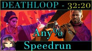 DEATHLOOP - Any% Speedrun in 32:20 PB