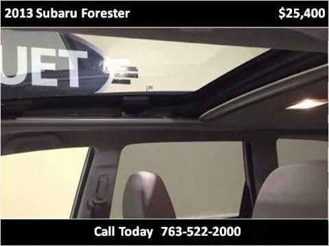 2013 subaru forester used cars golden valley mn youtube for Poquet motors golden valley mn