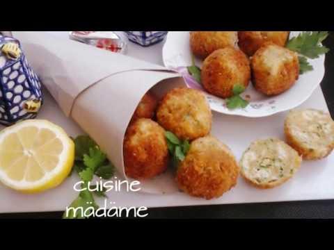 Recette Boulettes de pain  😋😋  وصفة كويرات الخبز المقلية