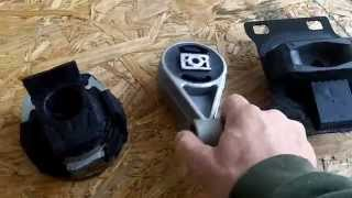 Symptoms of a bad motor mounts on Car and How to replace them