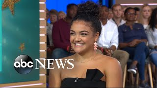 Laurie Hernandez announces she is returning to gymnastics
