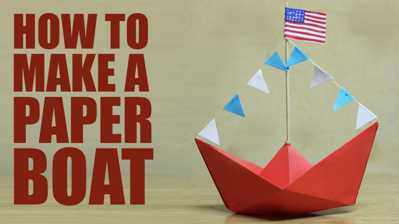 How to make a paper boat diy paper boat youtube youtube premium malvernweather Images