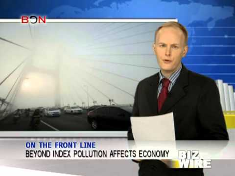 Beyond index pollution affects economy - Biz Wire - January 16,2013 - BONTV China