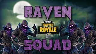 Raven Squad! - Fortnite Battle Royale Gameplay - Darth (Xbox One)