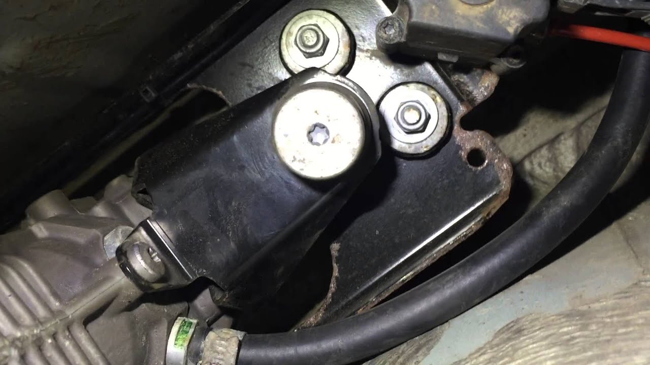 bmw 5 series 2004 2010 e61 rear suspension compressor pump removal [ 1280 x 720 Pixel ]