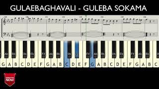 GULAEBAGHAVALI - GULEBA SOKAMA ( HOW TO PLAY ) MUSIC NOTES