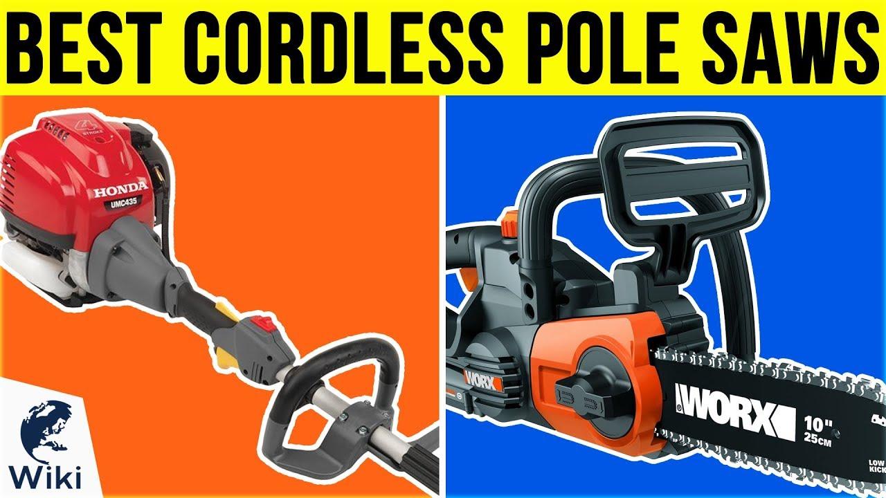 Best Cordless Pole Saw 2019 10 Best Cordless Pole Saws 2019   YouTube