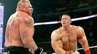 John Cena vs Brock Lesnar | Fights and Training