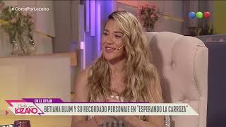 Betiana Blum recordó sus mejores anécdotas - Cortá por Lozano