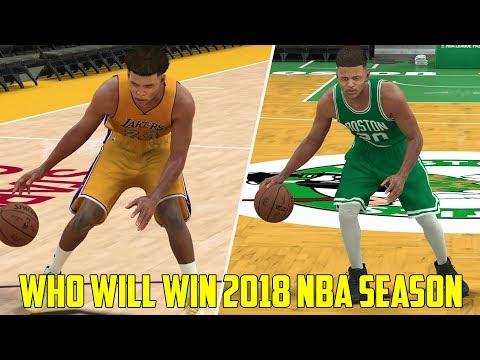 WHAT TEAM WILL WILL WIN THE 2017-18 NBA CHAMPIONSHIP? NBA 2K17!