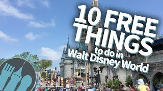 10 FREE Things To Do In Walt Disney World!