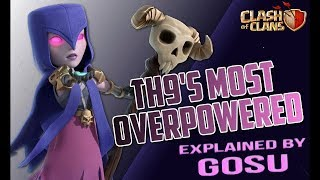 TH9 Witch Slap|Most OP Attacks For Now TH9| TH9 3Star Strategy WalkthroughTH9| | CLASH OF CLANS