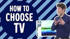 Kuinka valita oikea TV? Gigantti kertoo