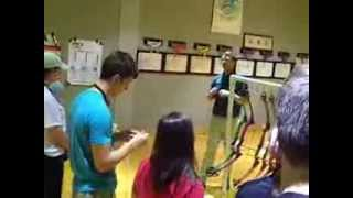 naspe in school archery workshop training instructors