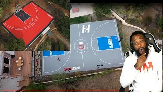 Faze Rug & Jesser Both Got New BASKETBALL COURTS!