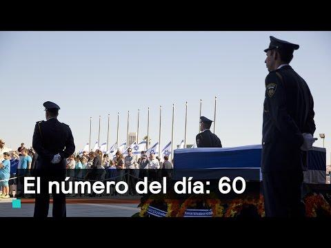 60 líderes mundiales asistirán al funeral de Shimon Peres - Las Noticias con Danielle