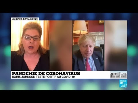 Coronavirus: Boris Johnson testé positif au Covid-19