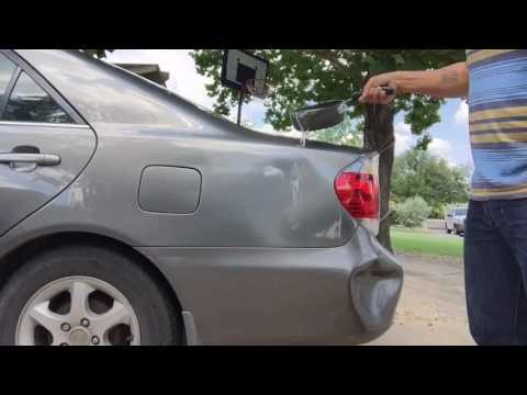LifeHacks - Using Boiling Water to Get Car Dents Out