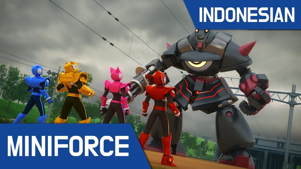 [Indonesian dub.] MiniForce sorot pertempuran #37