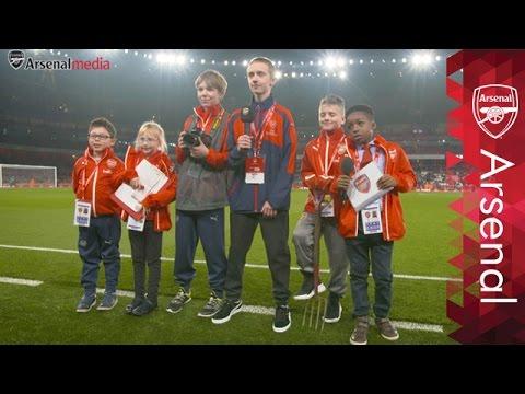 Junior Gunners takeover Emirates Stadium