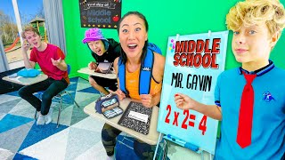 TEAM RAR goes back to MIDDLE SCHOOL!! ft. GAVIN MAGNUS