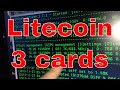 PT 3 Litecoin December 10th, 2013 Virgina Beach VA, Bitcoin $740 per coin