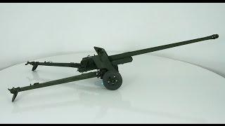 обзор масштабная модель бронетехника орудие пушка бс-3 1:35 (icm) / Modelling