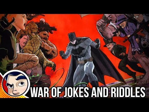 "Batman ""Joker Vs Riddler 