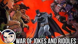 "Batman ""Joker Vs Riddler   War of Jokes and Riddles"" - Rebirth Complete Story"