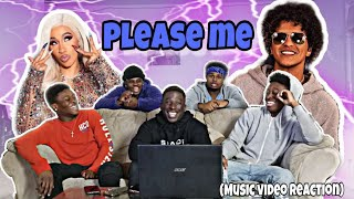Cardi B & Bruno Mars - Please Me (Official Music Video)(Reaction)
