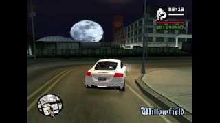 GTA San Andreas. Тест драйв Audi TT RS