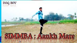 Aankh maare dance performance.Aankh maare dance choreography dng boys nitesh singh saka