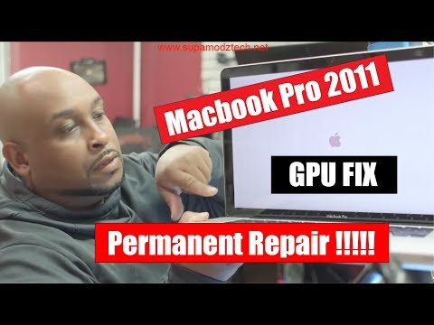Macbook Pro GPU fix