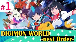 Кризис с Машиндрамонами! - Digimon World: Next Order - #1
