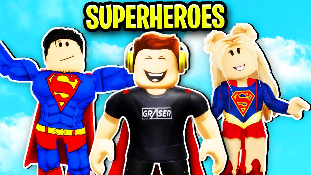 I Got Adopted By Superheroes in Roblox Brookhaven.. 🦸♀️🦸♂️