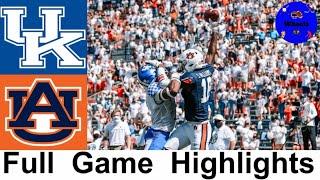 #23 Kentucky Vs #8 Auburn Highlights | College Football Week 4 | 2020 College Football Highlights