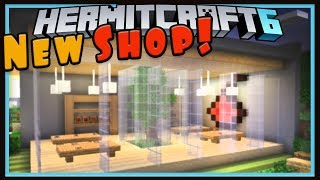 Hermitcraft Season 6: Fun New Shop Idea!  (Minecraft 1.13 survival let's play Ep.12)