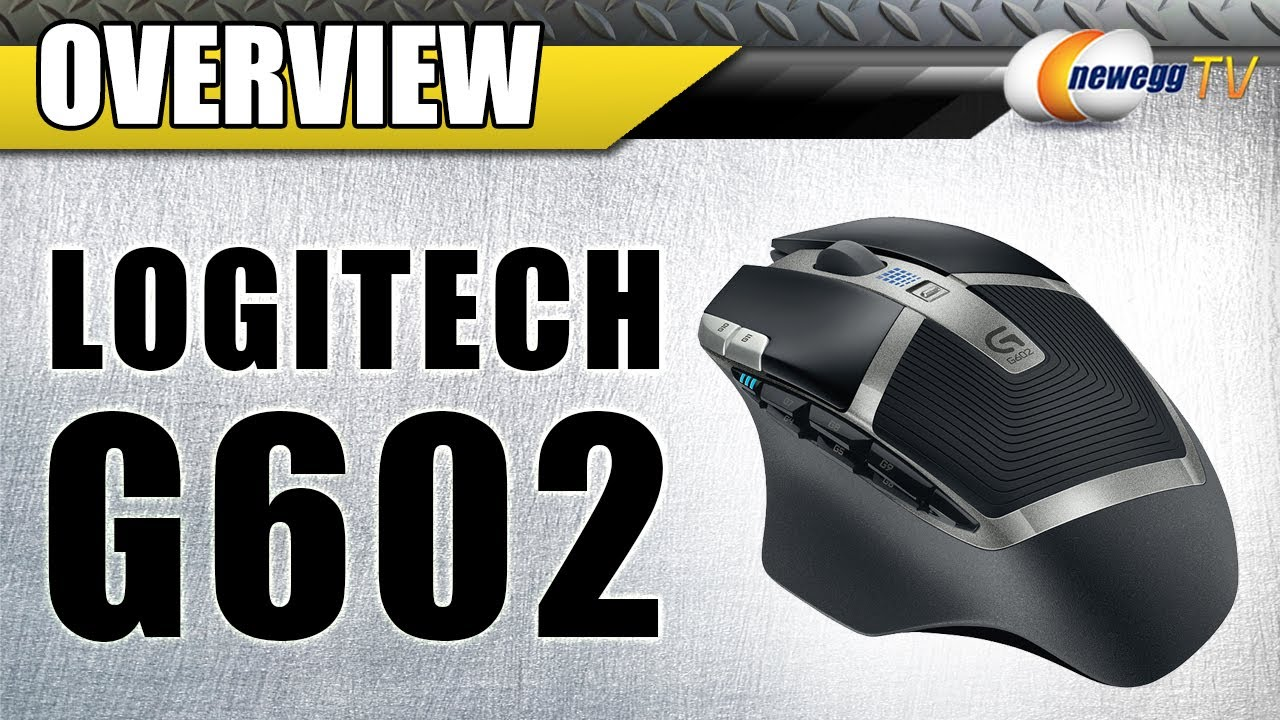 Logitech G602 Wireless 2500 dpi Gaming Mouse Overview - Newegg TV