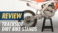 Trackside Dirt Bike Stands Review at CycleGear.com