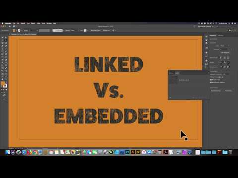 Why (and How) To Embed Images In Your Illustrator Files