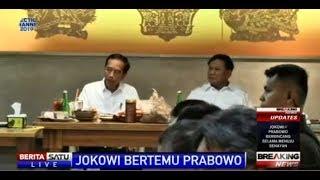 Mesranya Jokowi dan Prabowo saat Makan Siang Bersama