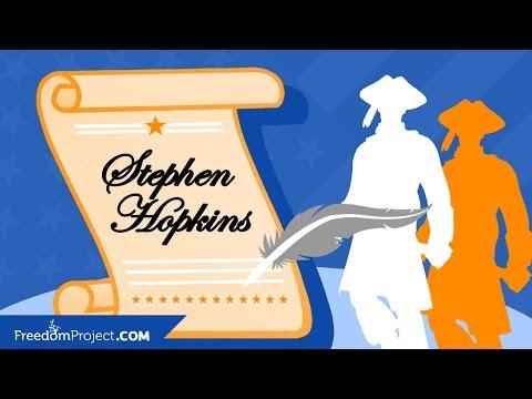 Stephen Hopkins  Declaration of Independence