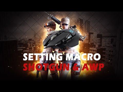 Setting Macro SHOTGUN
