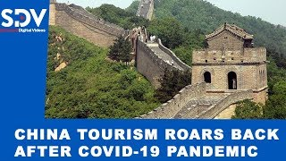 NORMAL LIFE AFTER COVID-19: Visitors delighted as Great Wall of China's Badalin section re-opens