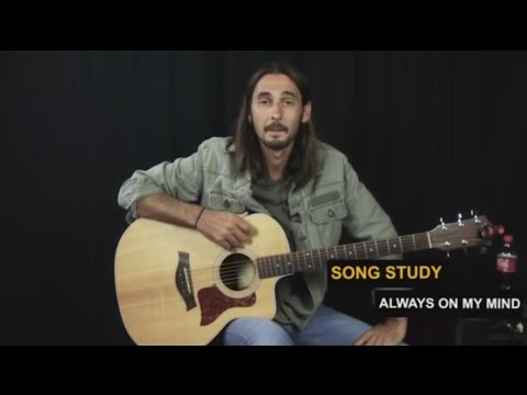 Always On My Mind Guitar Lesson | Willie Nelson | Easy Country Songs