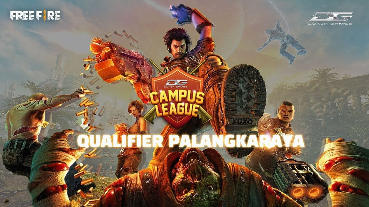 Dunia Games Campus League 2018 Free Fire Cluster