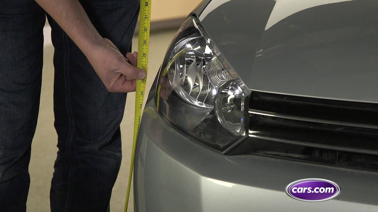 How Do I Know My Headlights Are Aimed Properly?   News   Cars com