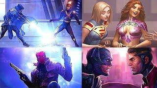 INJUSTICE 2 Todos los Finales de Personajes + DLC (Español Latino)