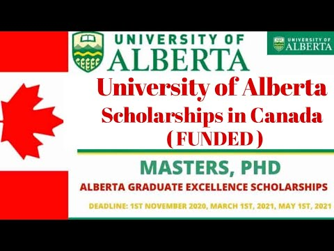 University Of Alberta Scholarships In Canada 2021 |Fully Funded| International| Scholarships Corner