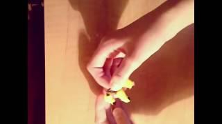 Связка бананов из резинок на крючке.🍌Видео-урок :)